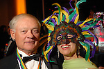 Don Kingsley and Gail Layne at the San Luis Mardi Gras Ball in Galveston Friday Feb. 01,2008.(Dave Rossman/For the Chronicle)