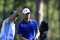 Lucas Bjerregaard (DEN) on the 10th tee during Sunday's Final Round of the 2018 Turkish Airlines Open hosted by Regnum Carya Golf &amp; Spa Resort, Antalya, Turkey. 4th November 2018.<br /> Picture: Eoin Clarke | Golffile<br /> <br /> <br /> All photos usage must carry mandatory copyright credit (&copy; Golffile | Eoin Clarke)