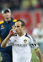07 March 2012: LA Galaxy forward Landon Donovan #10 heads to the dressing room at the end of a CONCACAF Champions League game between the LA Galaxy and Toronto FC at the Rogers Centre in Toronto..The game ended in a 2-2 draw.