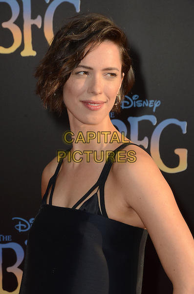 21 June 2016 - Hollywood. Rebecca Hall. Arrivals for the Premiere Of Disney's &quot;The BFG&quot; held at El Capitan Theater. <br /> CAP/ADM/BT<br /> &copy;BT/ADM/Capital Pictures