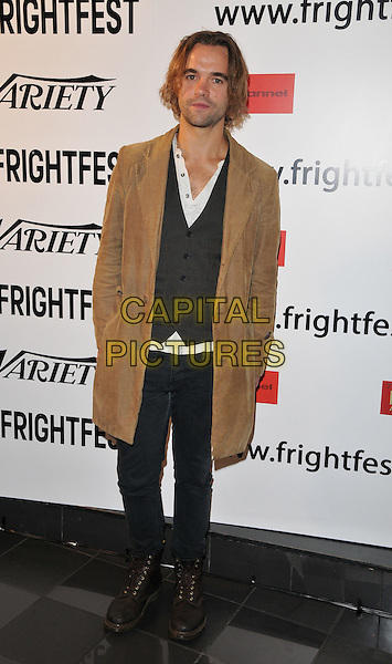 Rupert Hill attends the &quot;Awaiting&quot; UK film premiere, Film4 FrightFest, Vue West End cinema, Leicester Square, London, England, UK, on Monday 31 August 2015. <br /> CAP/CAN<br /> &copy;Can Nguyen/Capital Pictures