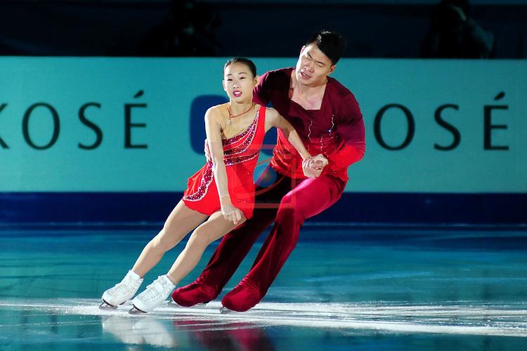 ISU Grand Prix of Figure Skating FINAL Barcelona 2014/2015.<br /> Cheng Peng &amp; Hao Zhang.