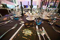 Picture by Allan McKenzie/SWpix.com - 04/11/17 - Swimming - British Swimming Awards 2017 - The Poiint, Lancashire County Cricket Ground, Manchester, England - Table decorations, gv, general view.