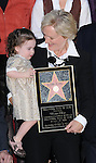 Glenn Close with her niece as she is Honored with the 2,378th Star on the Hollywood Walk of Fame Hollywood, Ca. January 12, 2009. Fitzroy Barrett
