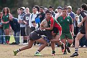 Wesley College vs Papakura High School. Counties Manukau High School finals held at Bruce Pulman Park Papakura on Saturday 22nd of August 2009.