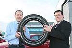 Bridgestones announce Avis Fleet service tyre contract..Photo: Newsfile/Fran Caffrey.