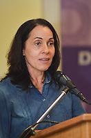 ATENCAO EDITOR IMAGEM EMBARGADA PARA VEICULOS INTERNACIONAIS - SAO PAULO, SP, 14 DE JANEIRO DE 2013.- HADDAD POLITICA PARA MULHERES - A vice prefeita Nadia Campeao, durante Diálogo Inaugural da Secretaria Especial de Políticas para as Mulheres, na prefeitura de Sao Paulo, da tarde desta segunda feira, 14.  (FOTO: ALEXANDRE MOREIRA / BRAZIL PHOTO PRESS).
