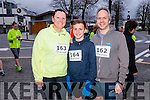 Trish, Jack and Mark Heider from Ballyheigue at the Good Friday 5 miles run in Killarney last Friday.