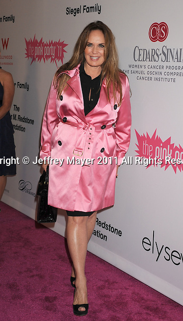 =HOLLYWOOD=, CA - SEPTEMBER 10: Catherine Bach attends the Pink Party '11 Hosted By Jennifer Garner To Benefit Cedars-Sinai Women's Cancer Program at Drai's Hollywood on September 10, 2011 in Hollywood, California.