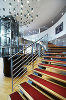 Abu Dhabi Sorbonne University Library Stairway