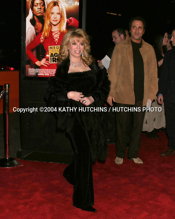 """©2004 KATHY HUTCHINS / HUTCHINS PHOTO.""""AGAINST THE ROPES"""" PREMIERE.HOLLYWOOD, CA.FEB 11, 2004..JACKIE KALLEN"""