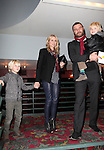 Naomi Watts with Alexandre Pete, Liev Schreiber with Samuel Kai  attending the New 42nd Street Gala at The New Victory Theater in New York City on December 5, 2012
