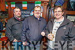 Kenneth Lawlor, Patrick Corridon and Mike Gleeson enjoying the Cheltenham Gold Cup day on Friday in the Castle Bar.