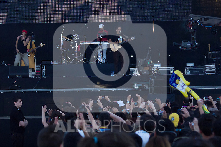 30.06.2012. Concert ´Macaco´ during Rock in Rio Festival 2012 in Madrid. (Alterphotos/Marta Gonzalez)