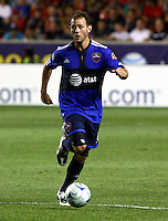 Brad Davis in the MLS All Stars v Everton 4-3 Everton win at Rio Tinto Stadium in Sandy, Utah on July 29, 2009