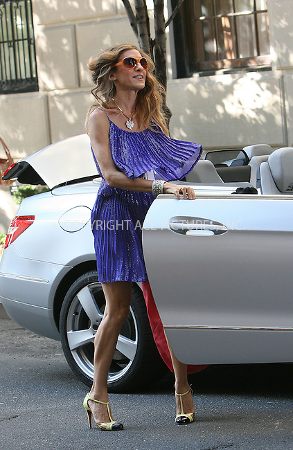 WWW.ACEPIXS.COM . . . . .  ....September 1 2009, New York City....Actress Sarah Jessica Parker on the set of the new movie 'Sex and the City 2' on the Upper East Side of Manhattan on September 1 2009 in New York City....Please byline: NANCY RIVERA- ACE PICTURES.... *** ***..Ace Pictures, Inc:  ..tel: (212) 243 8787 or (646) 769 0430..e-mail: info@acepixs.com..web: http://www.acepixs.com