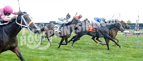 Hasay winning at Delaware Park on 7/11/12