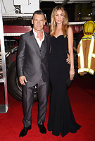 WESTWOOD, CA - OCTOBER 08: Actor Josh Brolin (L) and Kathryn Boyd arrive at the Premiere Of Columbia Pictures' 'Only The Brave' at Regency Village Theatre on October 8, 2017 in Westwood, California.<br /> CAP/ROT/TM<br /> &copy;TM/ROT/Capital Pictures