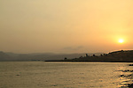 Israel, a view of the Sea of Galilee from Capernaum