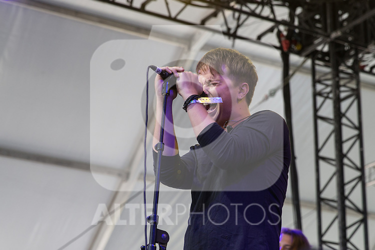 English music Nothing but thieves at Dcode music festival in Madrid. September 10, 2016. (ALTERPHOTOS/Rodrigo Jimenez)