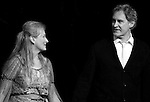 Meryl Streep & Kevin Kline.pictured during Curtain Call for the Public Theater Celebrates 50 Years at the Delacorte Theater with a Benefit Reading of ''Romeo And Juliet'  in Central Park, New York City on June 18, 2012
