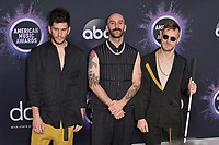 LOS ANGELES, USA. November 25, 2019: Adam Levin, Sam Harris, Casey Harris & X Ambassadors  at the 2019 American Music Awards at the Microsoft Theatre LA Live.<br /> Picture: Paul Smith/Featureflash