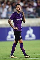 Edgar Pulgar<br /> Firenze 11/8/2019 Stadio Artemio Franchi <br /> Football friendly match 2019/2020 <br /> ACF Fiorentina - Galatasaray <br /> Foto Daniele Buffa / Image / Insidefoto