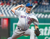 New York Mets relief pitcher Seth Lugo (67) works in the seventh inning against the Washington Nationals at Nationals Park in Washington, D.C. on Wednesday, September 4, 2019.  The Mets won the game 8 - 4.<br /> Credit: Ron Sachs / CNP<br /> (RESTRICTION: NO New York or New Jersey Newspapers or newspapers within a 75 mile radius of New York City)