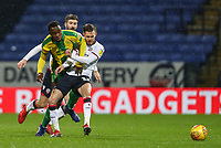 Bolton Wanderers' Craig Noone competing with West Bromwich Albion's Rekeem Harper<br /> <br /> Photographer Andrew Kearns/CameraSport<br /> <br /> The EFL Sky Bet Championship - Bolton Wanderers v West Bromwich Albion - Monday 21st January 2019 - University of Bolton Stadium - Bolton<br /> <br /> World Copyright © 2019 CameraSport. All rights reserved. 43 Linden Ave. Countesthorpe. Leicester. England. LE8 5PG - Tel: +44 (0) 116 277 4147 - admin@camerasport.com - www.camerasport.com