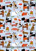 Kate, GIFT WRAPS, GESCHENKPAPIER, PAPEL DE REGALO, Christmas Santa, Snowman, Weihnachtsmänner, Schneemänner, Papá Noel, muñecos de nieve, paintings+++++Christmas bandana dogs,GBKM108,#gp#,#x#,dogs ,sticker,stickers