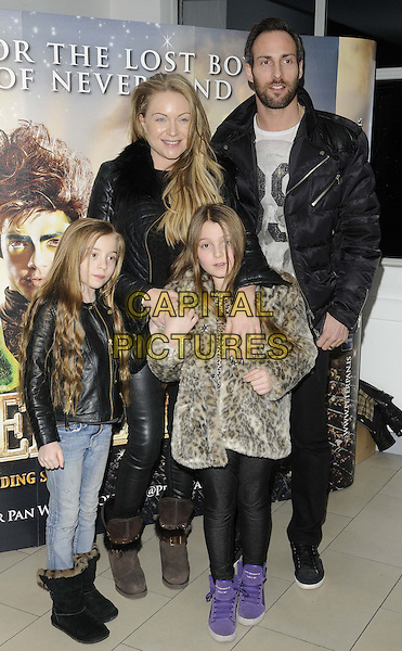 LONDON, ENGLAND - JANUARY 02: Rita Simons &amp; her family attend the 'Peter Pan - The Never Ending Story' VIP night, Wembley Arena,  on Thursday January 02, 2014 in London, England, UK.<br /> CAP/CAN<br /> &copy;Can Nguyen/Capital Pictures