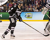 Trevor Mingoia (PC - 9) - The Providence College Friars defeated the Boston University Terriers 4-3 to win the national championship in the Frozen Four final at TD Garden on Saturday, April 11, 2015, in Boston, Massachusetts.