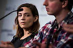 """Canadian actress Kathleen Munroe during the press conference of the presentation of """"The Void"""" at Festival de Cine Fantastico de Sitges in Barcelona. October 08, Spain. 2016. (ALTERPHOTOS/BorjaB.Hojas)"""