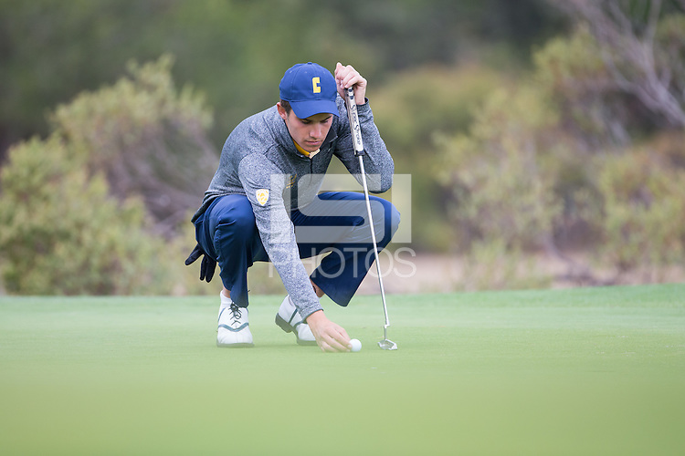 Fairfax, CA - OCTOBER 11, 2016: Cal Men's Golf During the Alister MacKenzie Invitational at the Meadow Club.