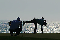 Andy Sullivan (ENG) picks his ball out the hole during the second round of the Rocco Forte Sicilian Open played at Verdura Resort, Agrigento, Sicily, Italy 11/05/2018.<br /> Picture: Golffile | Phil Inglis<br /> <br /> <br /> All photo usage must carry mandatory copyright credit (&copy; Golffile | Phil Inglis)