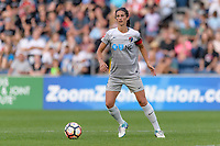 Bridgeview, IL - Sunday September 03, 2017: Abby Erceg during a regular season National Women's Soccer League (NWSL) match between the Chicago Red Stars and the North Carolina Courage at Toyota Park. The Red Stars won 2-1.