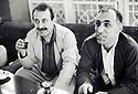 Irak 1991<br /> Roj Shawes et Adnan Mufti<br /> Iraq 1991<br /> Roj Shawes and Adnan Mufti