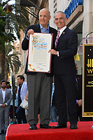 Jeffrey Tambor &amp; Mitch O'Farrell at the Hollywood Walk of Fame Star Ceremony honoring actor Jeffrey Tambor. Los Angeles, USA 08 Aug. 2017<br /> Picture: Paul Smith/Featureflash/SilverHub 0208 004 5359 sales@silverhubmedia.com