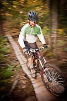 Mountain biking in Copper Harbor Michigan Michigan's Upper Peninsula.