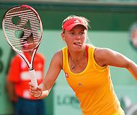 02-06-12, France, Paris, Tennis, Roland Garros, Caroline Wozniacki