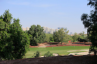 View across the 5th fairway during the preview for the DP World Tour Championship at the Earth course,  Jumeirah Golf Estates in Dubai, UAE,  18/11/2015.<br /> Picture: Golffile | Thos Caffrey<br /> <br /> All photo usage must carry mandatory copyright credit (© Golffile | Thos Caffrey)