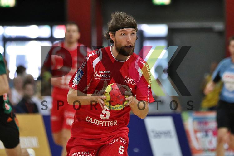 Bremen, 09.08.15, Sport, Handball, Erima-Cup 2015, MT Melsungen-TSV Hannover-Burgdorf : Johannes Sellin (MT Melsungen, #05)<br /> <br /> Foto &copy; P-I-X.org *** Foto ist honorarpflichtig! *** Auf Anfrage in hoeherer Qualitaet/Aufloesung. Belegexemplar erbeten. Veroeffentlichung ausschliesslich fuer journalistisch-publizistische Zwecke. For editorial use only.