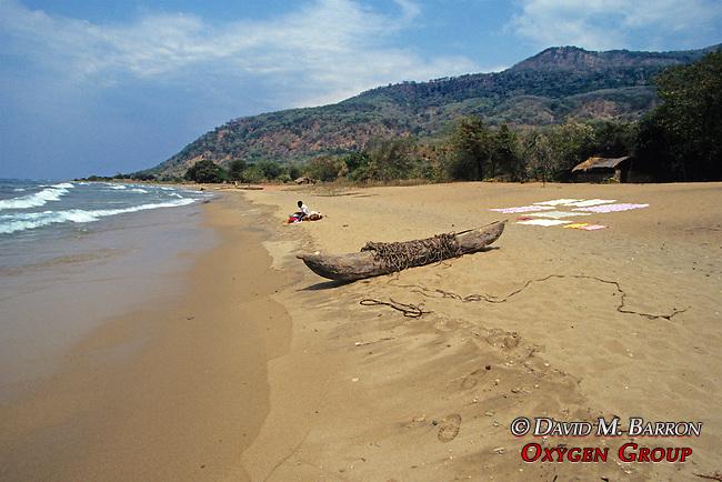 Chombe Beach And Dugout Canoe Canoe