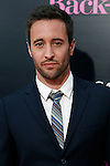 US actor/cast member Alex O'Loughlin arrives at the USA/LA premiere of CBS Films' 'The Back-Up Plan' held at the Regency Village Theatre in Westwood in Los Angeles on April 21, 2010. The movie is a comedy that explores dating, love, marriage and family in reverse.