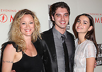 "BEVERLY HILLS, CA, USA - MAY 10: Teri Polo, David Lambert, Maia Mitchell at the ""An Evening With Women"" 2014 Benefiting L.A. Gay & Lesbian Center held at the Beverly Hilton Hotel on May 10, 2014 in Beverly Hills, California, United States. (Photo by Celebrity Monitor)"