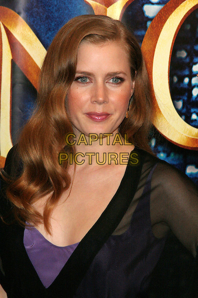 "AMY ADAMS.Special New York Screening of ""Enchanted"" at the Ziegfeld Theatre, New York, NY, USA..November 19th, 2007.headshot portrait black sheer .CAP/LNC/JOS.© JOS /LNC/Capital Pictures"