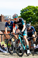 Picture by Alex Whitehead/SWpix.com - 13/05/2018 - British Cycling - HSBC UK Spring Cup Series - Lincoln Grand Prix - Connor Swift of Madison Genesis and Charlie Tanfield of Canyon Eisberg.