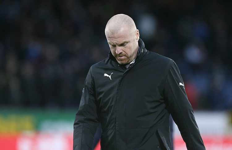 Burnley manager Sean Dyche <br /> <br /> Photographer Rich Linley/CameraSport<br /> <br /> The Premier League - Burnley v Brighton and Hove Albion - Saturday 8th December 2018 - Turf Moor - Burnley<br /> <br /> World Copyright © 2018 CameraSport. All rights reserved. 43 Linden Ave. Countesthorpe. Leicester. England. LE8 5PG - Tel: +44 (0) 116 277 4147 - admin@camerasport.com - www.camerasport.com