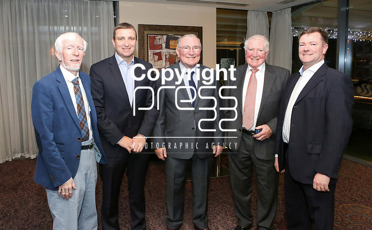 Pictured at the Limerick Sports Partnership Sports Awards were: Barry Sharkey, Niall Collins, Michael Collins, Sean Collins &amp; James Collins<br /> Picture  Credit Brian Gavin Press 22