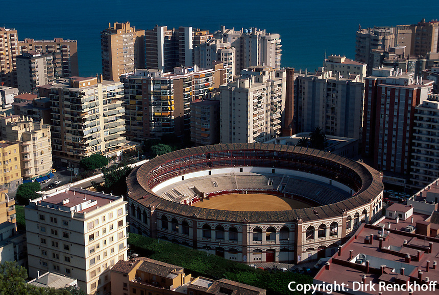 Spanien, Andalusien, Stierkampfarena in Malaga